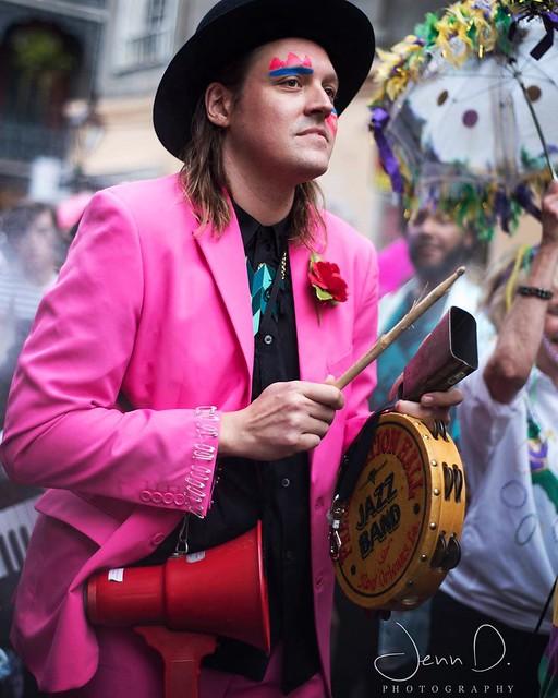 Arcade Fire's David Bowie parade