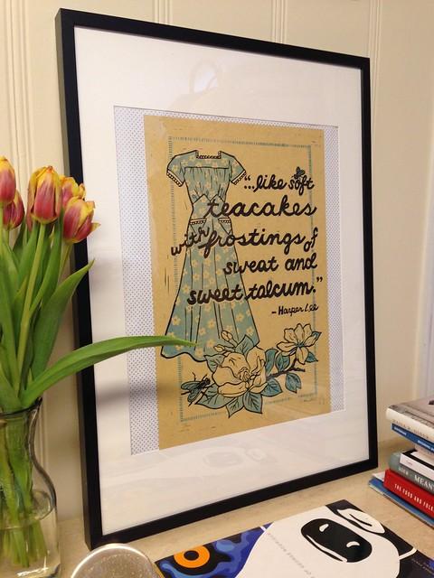 Like Soft Teacakes print by Lisa Kesler