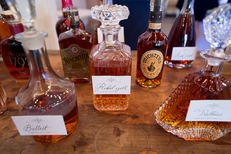 A queer bourbon and beer bacchanal: it's fab drunken gay glamour as seen on @offbeatbride
