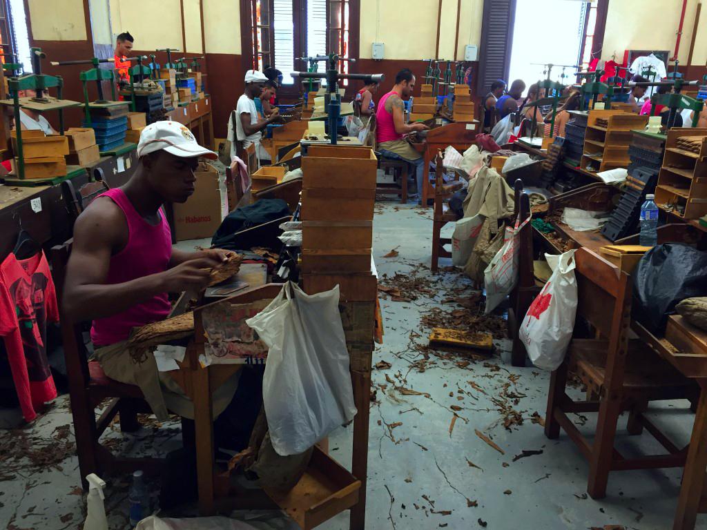 visita a la fábrica de puros de La Habana: Fabrica de Puros de La Habana en Cuba fábrica de puros de La Habana Visita a la fábrica de puros de La Habana en Cuba 26056745910 cd6d524494 o
