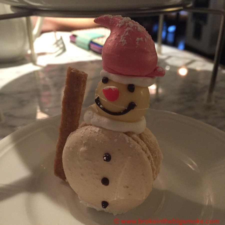 Lanes of London Festive Afternoon Tea Snowman