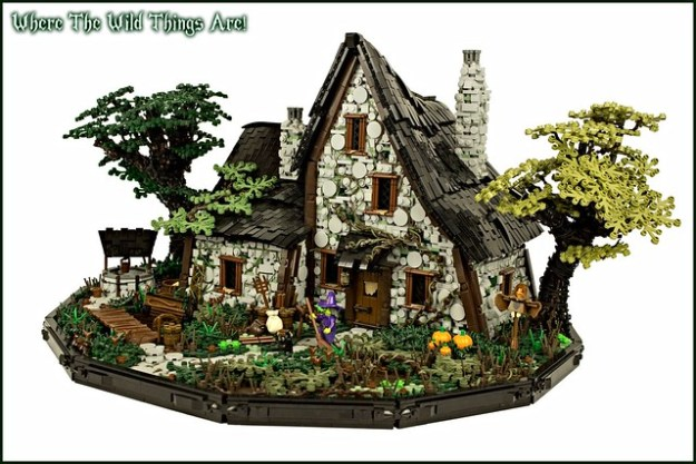 Lego Medieval House medieval done right with luke hutchison | the brothers brick | the