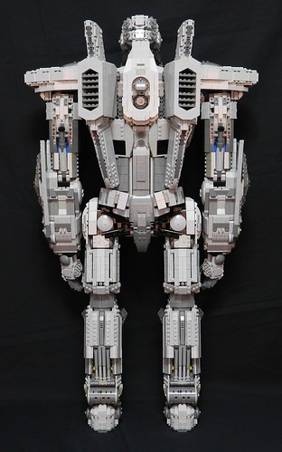 2 Foot Tall Striker Eureka From Pacific Rim Built From