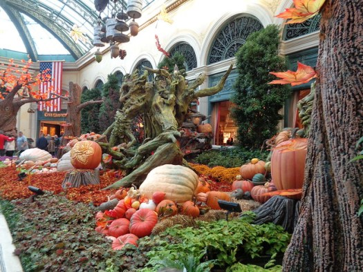 Autumnal Floral Displays, Bellagio, Las Vegas NV