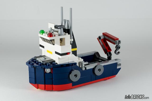 REVIEW LEGO Creator 31045 Ocean Explorer 10