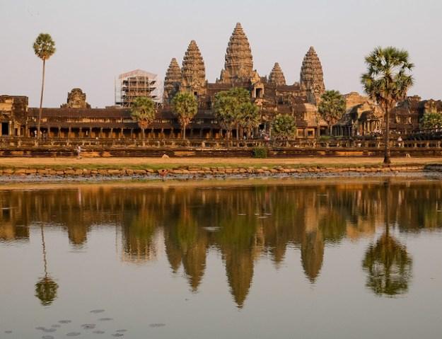 Angkor Wat, the classic shot