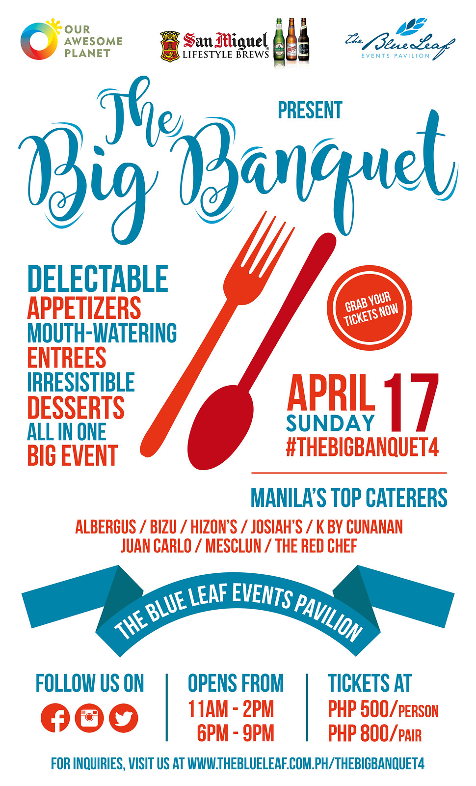The Big Banquet 4 Poster - FINAL