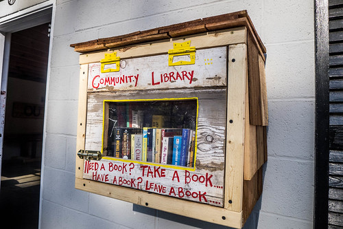 Community Library at Cloudfire Outfitters