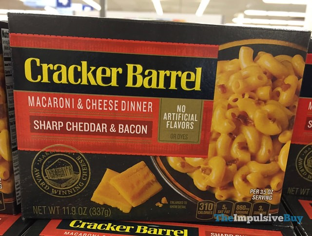 Cracker Barrel Sharp Cheddar & Bacon Macaroni & Cheese Dinner