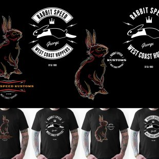 Rabbit Speed tshirts vol. one