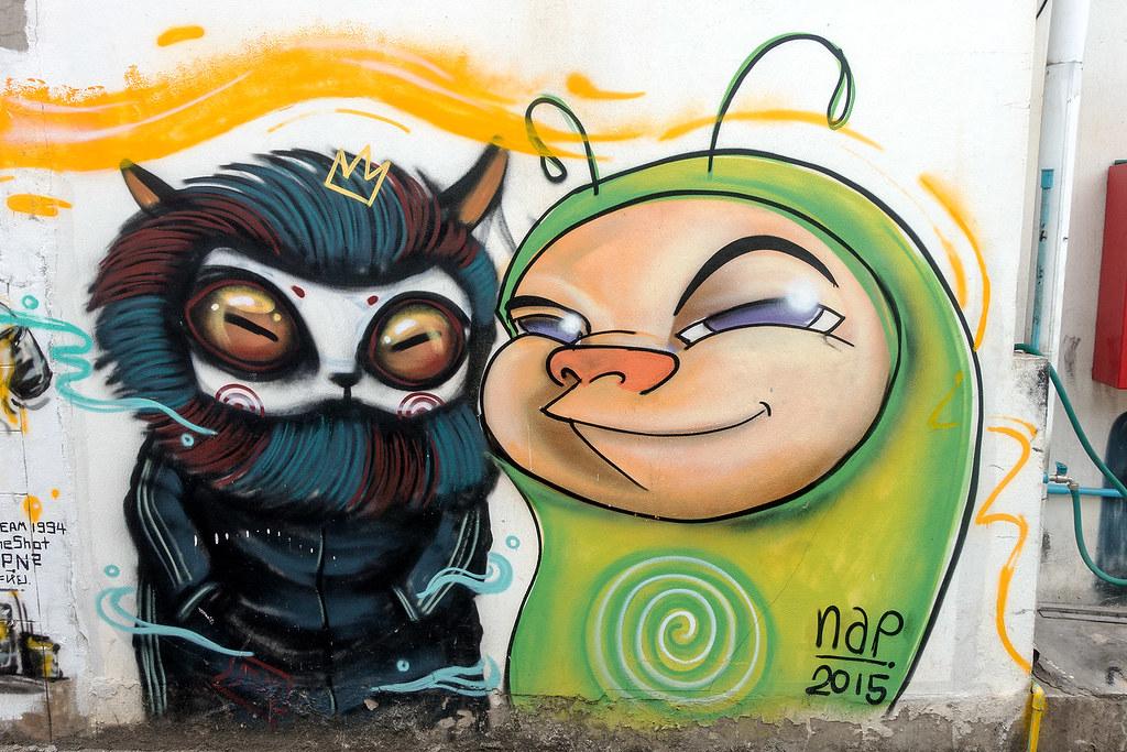 Chiang Mai Street Art 40