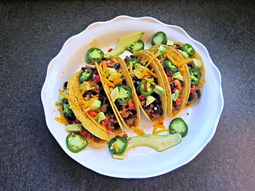 Baked Turkey Tacos