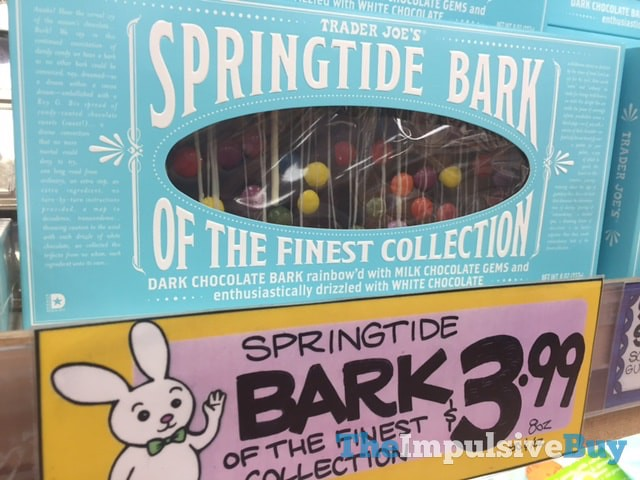Trader Joe's Springtide Bark of the Finest Collection