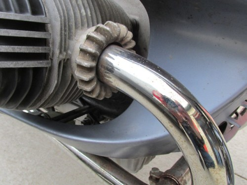 Chrome Pits on Header Pipe