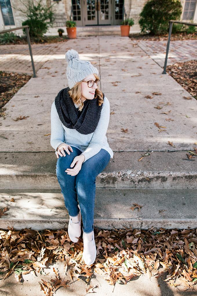 peplum sweater knit beanie1