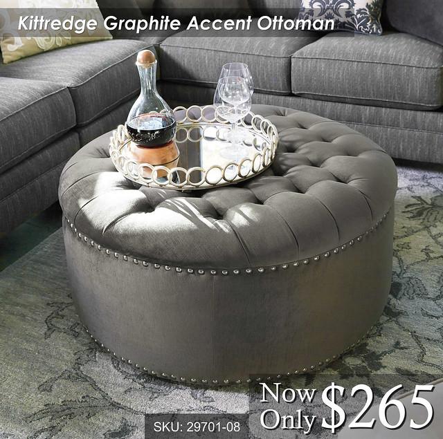 Kittredge Accent Ottoman