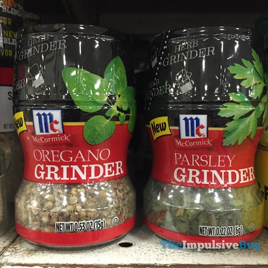 McCormick Oregano Grinder and Parsley Grinder