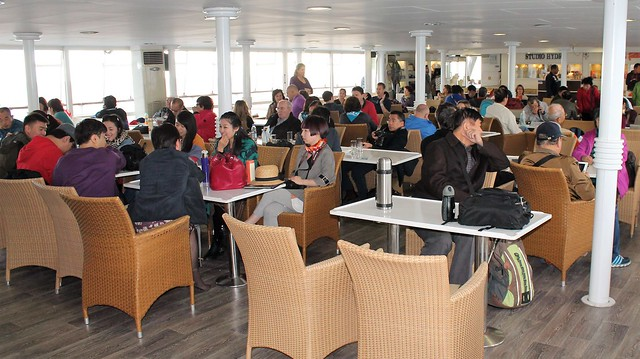 Anna Marou cruise ship rear lounge