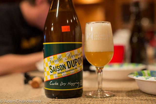 Saison Dupont Cuvée Dry Hopping 2015