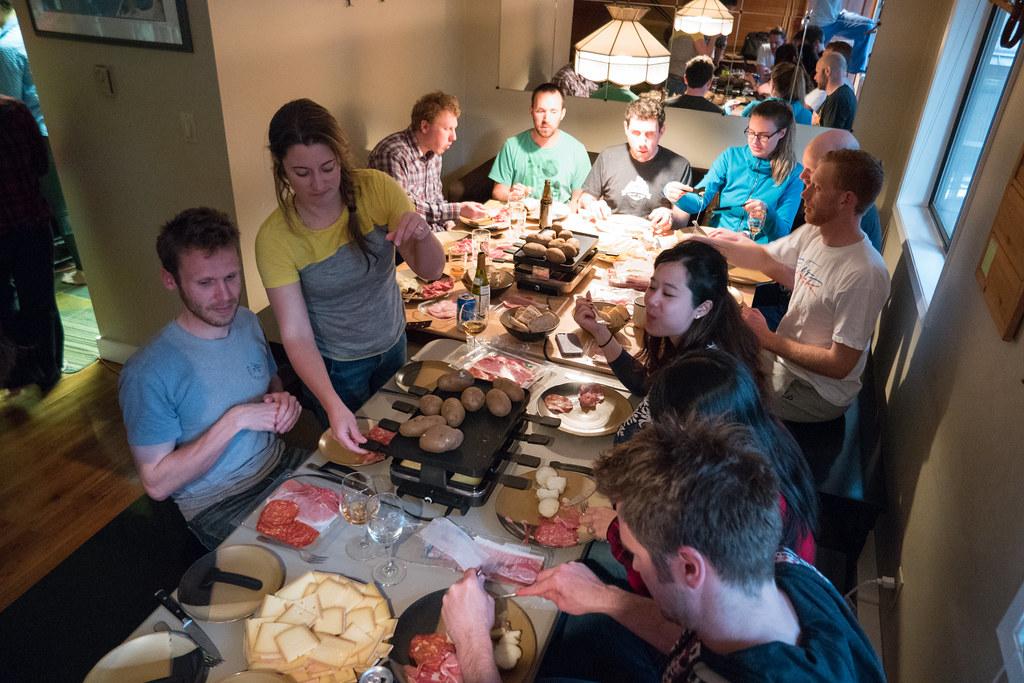 Ski Raclette party