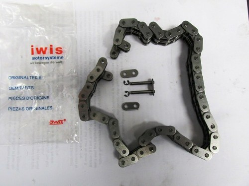 New Iwis Cam Chain with C-clips for Master Link Pins
