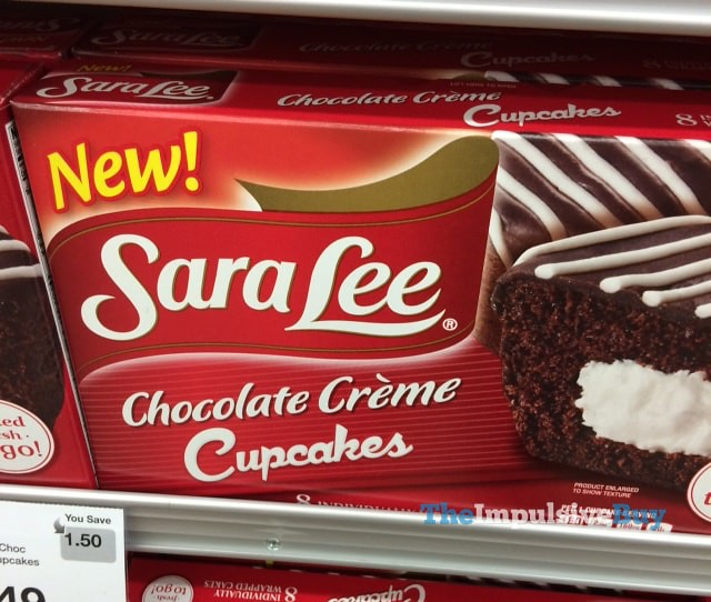 Sara Lee Chocolate Creme Cupcakes