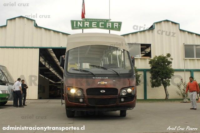 Maururu Travel (Turismo Isla de Pascua) - Inrecar Géminis / Chevrolet