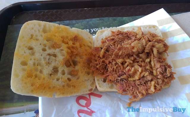 Tim Hortons Pulled Pork Sandwich 2