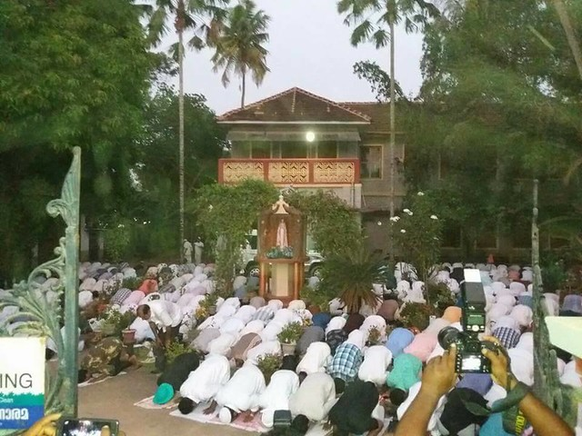 Bishop House in Kerala opens doors for Muslims to perform prayers