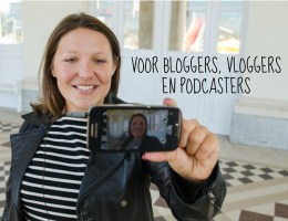 Voor bloggers, vloggers en podcasters