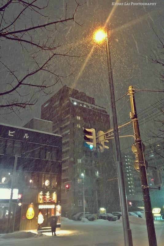 札幌那夜的大雪(Sapporo snow)