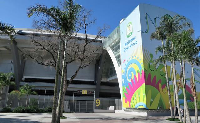 Maracana stadium rio brazil