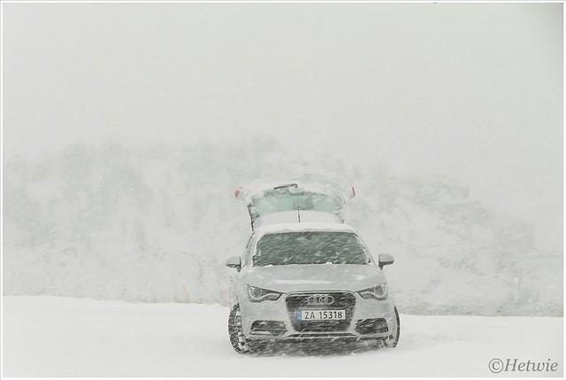 In de sneeuw (HP003200)