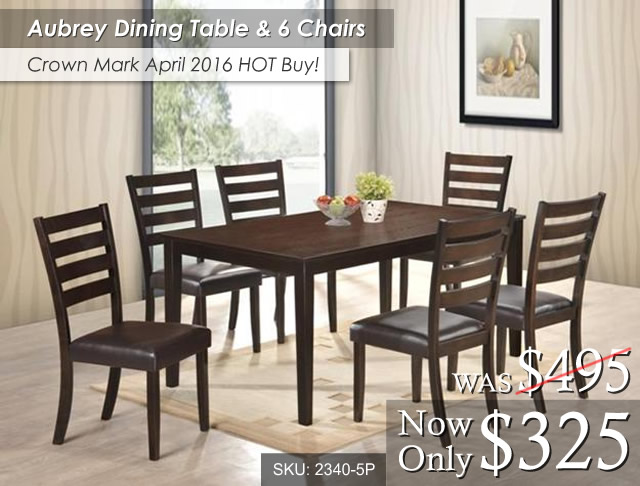 Aubrey Dining Table & Chairs