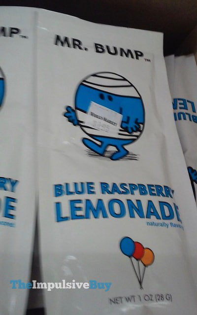 Mr. Bump Blue Raspberry Lemonade