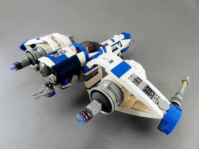 MOC Star Wars Denon's Stallion