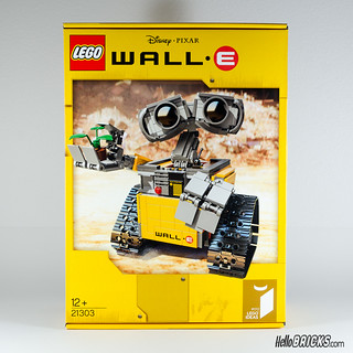 REVIEW LEGO 21303 WALL-E LEGO IDEAS 01