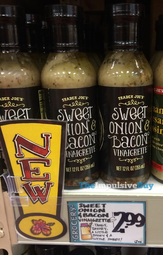 Trader Joe's Sweet Onion & Bacon Vinaigrette