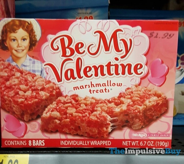 Little Debbie Be My Valentine Marshmallow Treats