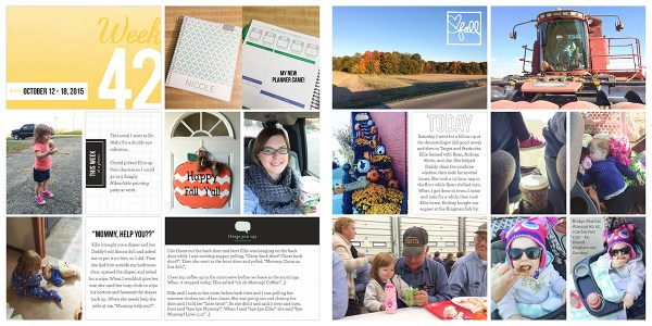Project Life 2015: Week 42