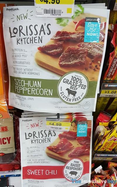 Lorissa's Kitchen Szechuan Peppercorn Steak Strips and Sweet Chili Pork Cuts