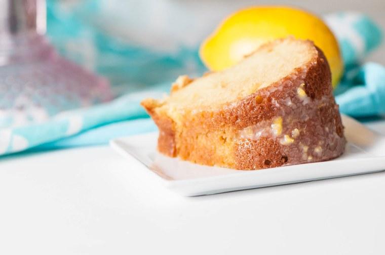 Double Lemon Pound Cake