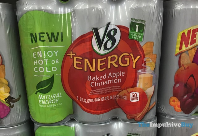 V8 Energy Baked Apple Cinnamon