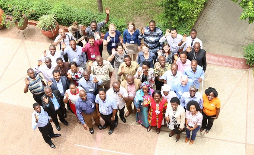 Participants group photo - West Africa Review and Planning meeting 2016