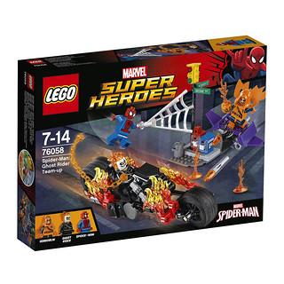 LEGO Marvel Super Heroes 76058 Spider-Man Ghost Rider Team-Up box
