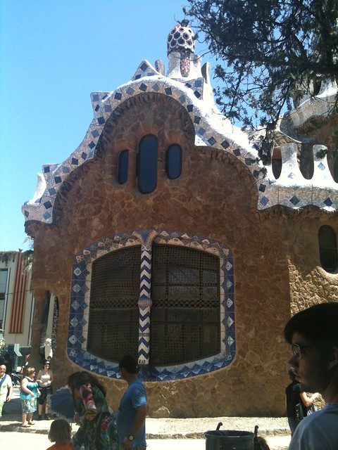 Parc Guell Barcelona, detail