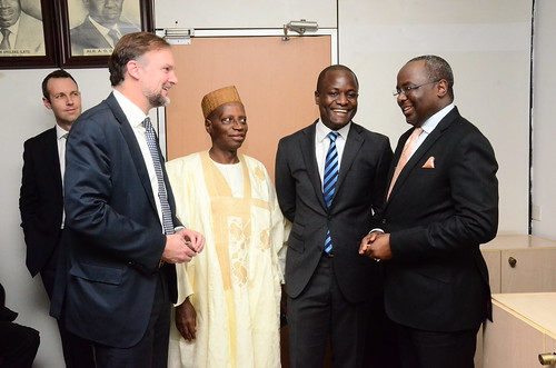 Visit by Foreign Investors to the SEC, NG