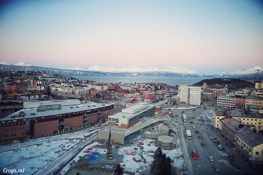 2016.02.23| 看我歐行腿 | 阿呀~一不小心就從瑞典到了挪威, Narvik 小鎮遇見地理課本中的峽灣 32.jpg