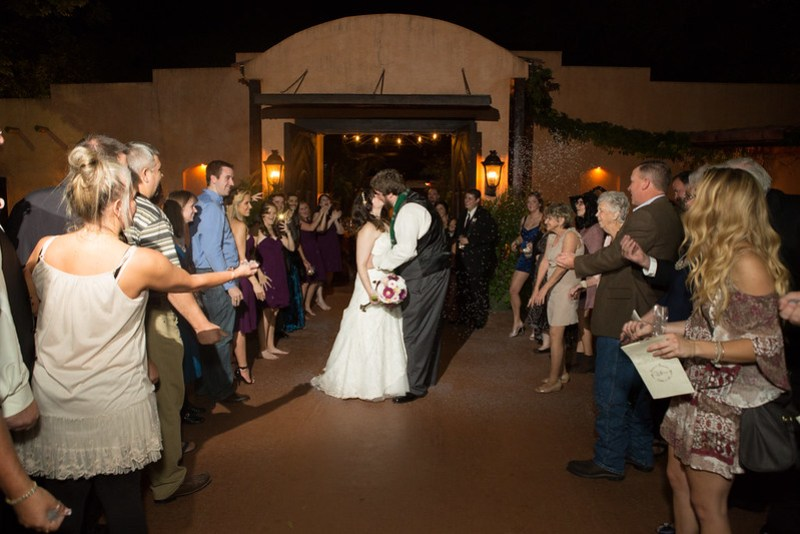 A Lord of the Rings meets Harry Potter wedding as seen on @offbeatbride #harrypotter #lotr #weddings