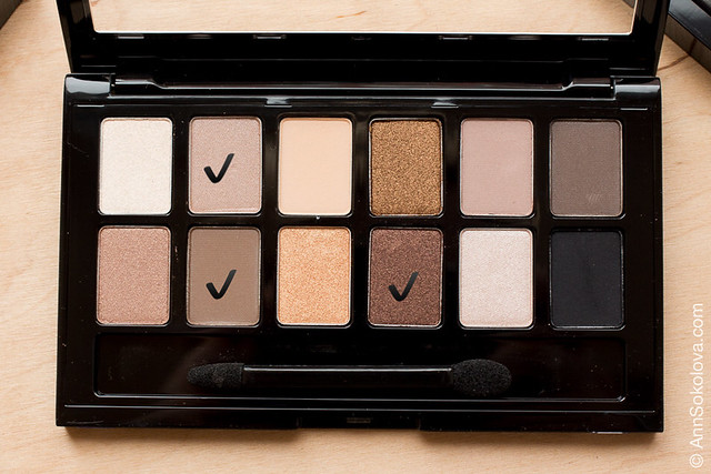 Maybelline Nudes colors I use